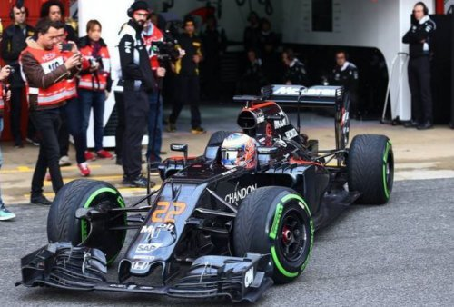 jenson button mclaren mp4 31