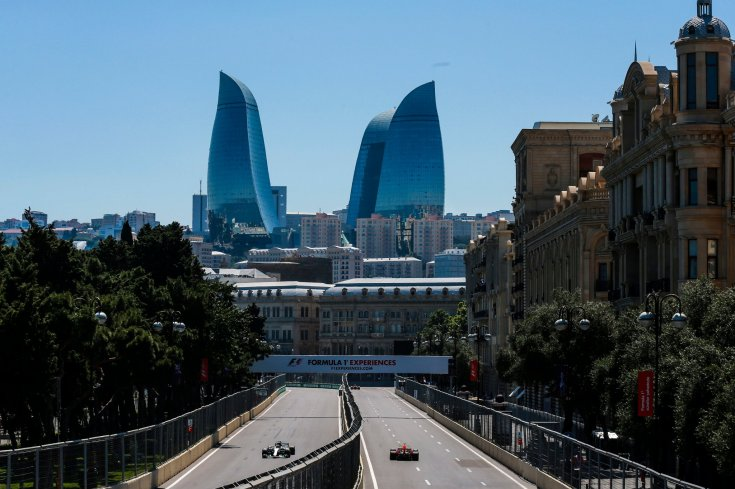 gran pri azerbaydgana  trassa baku