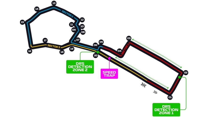 shema trassa formuli 1 v baku