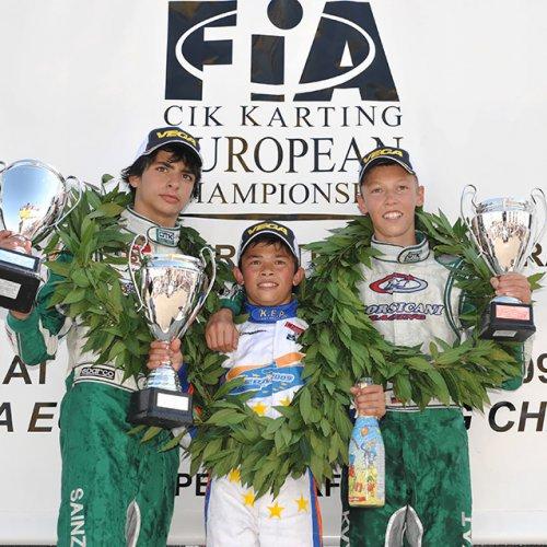 daniil kvyat zavoeval trete mesto v chempionate evropi 2009 goda