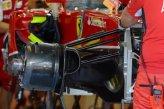 Ferrari F14 T front wheel hub.