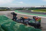 Daniel Juncadella (ESP) Force India VJM07 crashed in FP1.
