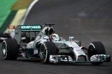 Lewis Hamilton (GBR) Mercedes AMG F1 W05.