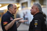 Franz Tost (AUT) Scuderia Toro Rosso Team Principal and Dr. Vijay Mallya (IND) Force India