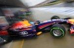 Sebastian Vettel (GER) Red Bull Racing RB10. Formula One World Championship, Rd9, British Grand Prix, Qualifying, Silverstone, England, Saturday, 5 July 2014