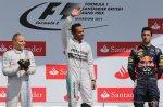 Победитель Гран При Великобритании - Льюис Хэмилтон