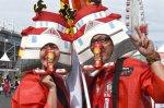 Ferrari fans.