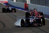 Jean-Eric Vergne (FRA) Scuderia Toro Rosso STR9 locks up.