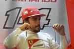 Fernando Alonso (ESP) Ferrari.