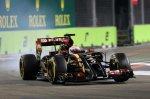 Romain Grosjean (FRA) Lotus E22.