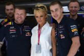 Pamela Anderson (USA) Actress at Red Bull Racing.