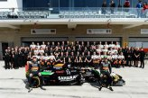 Nico Hulkenberg (GER) Force India F1 and Sergio Perez (MEX) Force India at the Force Inda F1 Team photo.