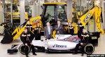F1 novosti: williams podpisala kontrakt s jcb