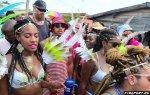hemilton posetil karnaval na barbadose