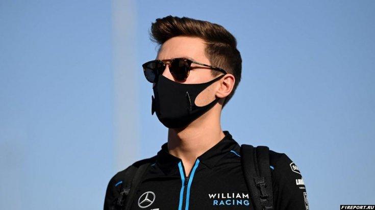 Расселл:  После гран-при Сахира я вернулся в комнату для гонщиков и швырял буквально все