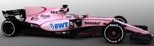 Sahara Force India F1 Team, машина VJM10