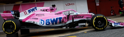 Racing Point Force India, машина VJM11
