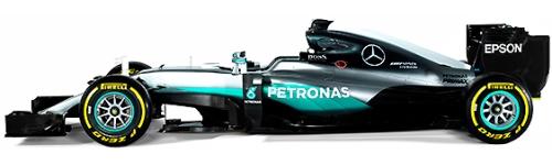 Mercedes AMG Petronas Formula 1 Team, машина