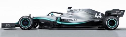 Mercedes AMG Petronas, машина Mercedes W10
