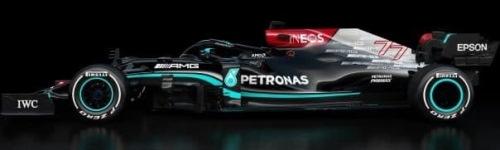 Mercedes AMG Petronas, машина W12