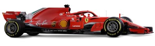 Scuderia Ferrari, машина SF71H