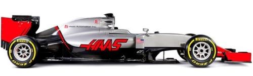 Haas Racing, машина