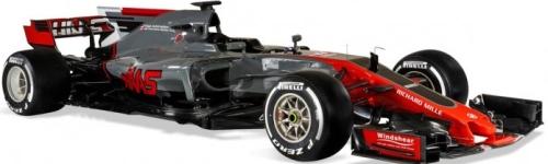 Haas Racing, машина VF-17