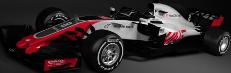 Haas Racing, машина VF-18