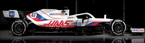 Uralkali Haas F1 Team, машина VF21
