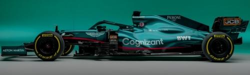 Aston Martin Cognizant F1 Team, машина AMR21
