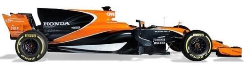 McLaren Honda, машина MCL32