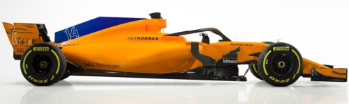 McLaren, машина MCL33