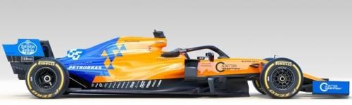 McLaren F1 Team, машина McLaren MCL34
