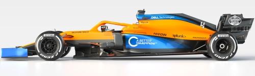 McLaren F1 Team, машина