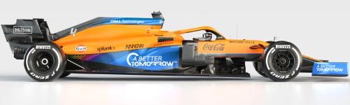 McLaren F1 Team, машина MCL 35M