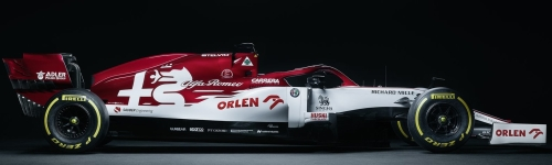 Alfa Romeo Racing, машина С41