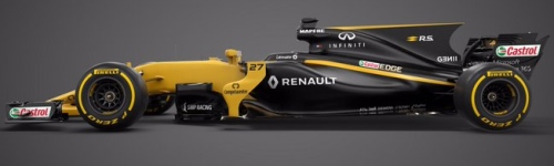 Renault Sport Formula One Team, машина RS17