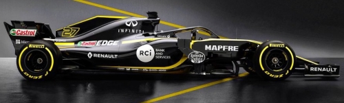 Renault Sport Formula One Team, машина R.S.18