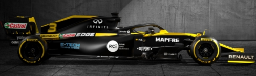 Renault DP World F1 Team, машина R.S.20