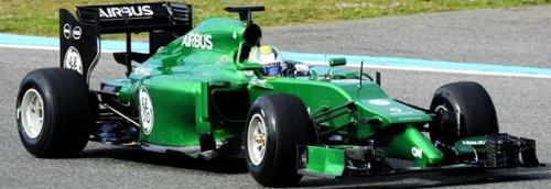 Caterham F1 Team, машина Caterham Renault СТ04