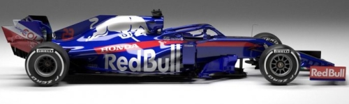 Red Bull Toro Rosso Honda, машина Toro Rosso STR14