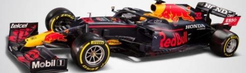 Red Bull Racing, машина RB16B