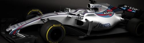 Williams Martini Racing, машина FW40