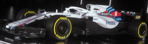 Williams Martini Racing, машина FW41