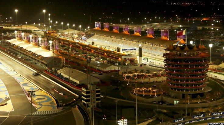 bahrain sakhir trassa